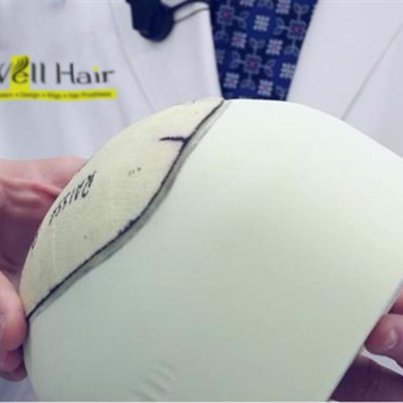 protez saç kalıp alma