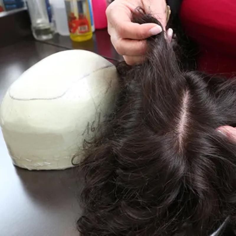 doğal görünümlü protez saç