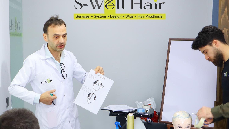 Protez saç kursu