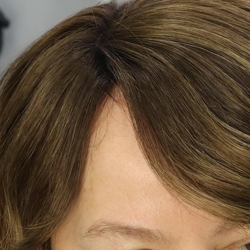 weaving sistemi ile protez saç